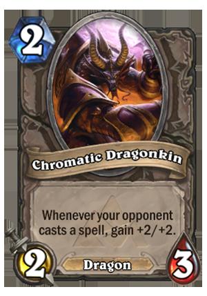 Chromatic Dragonkin - Hearthstone Card - Hearthstone Top Decks