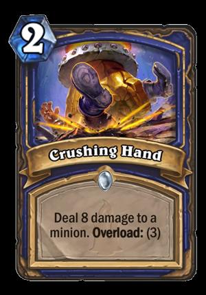 Crushing Hand Card