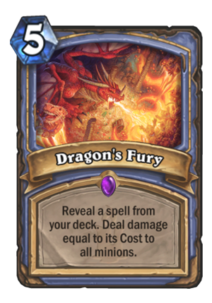Dragon's Fury Card