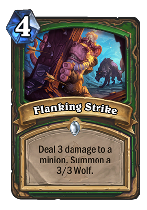 Flanking Strike Card
