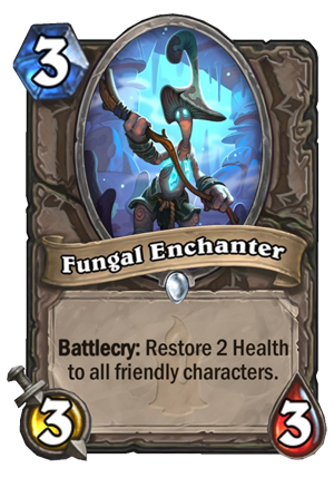Fungal Enchanter Card