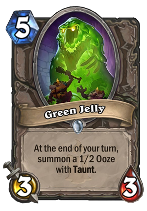 Green Jelly Card