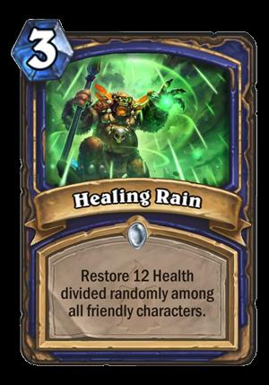 Healing Rain Card