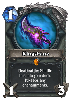 Kingsbane Card