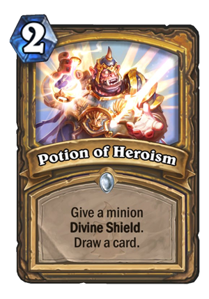 Potion of Heroism Card