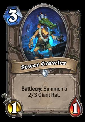 Sewer Crawler Card
