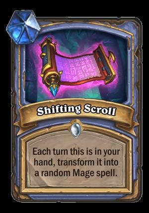 Shifting Scroll Card