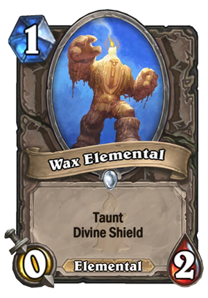 Wax Elemental Card