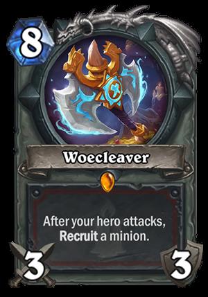 Woecleaver Card