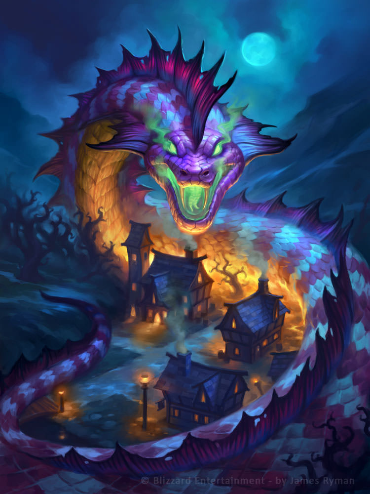 Baku the Mooneater Full Art