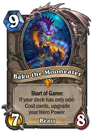 Baku the Mooneater Card