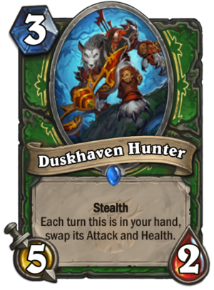 Duskhaven Hunter (Worgen) Card