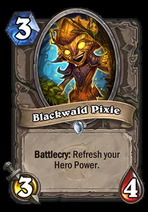 Blackwald Pixie Card