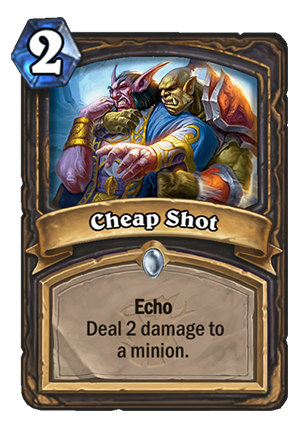 Cheap Shot Card