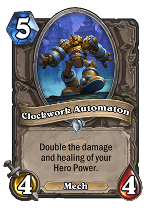 Clockwork Automaton Card