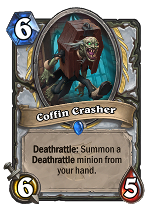 Coffin Crasher Card