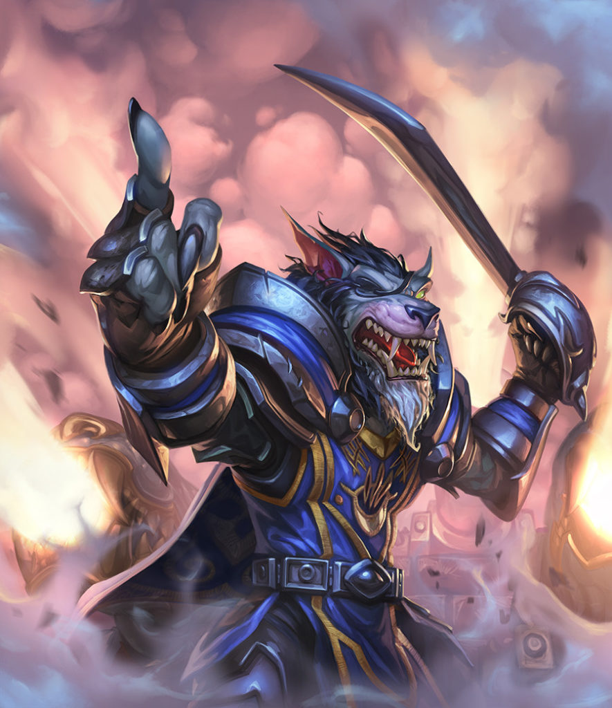 Darius Crowley Full Art