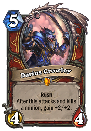Darius Crowley Card