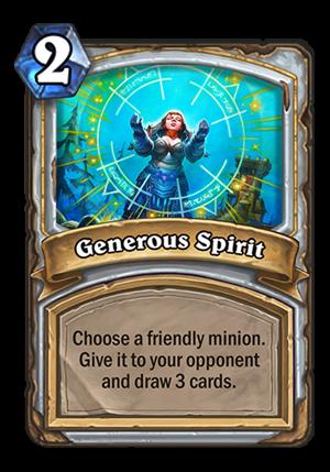 Generous Spirit Card