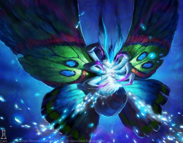 Glitter Moth Full Art