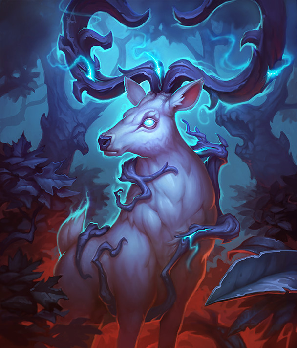 Gloom Stag Full Art