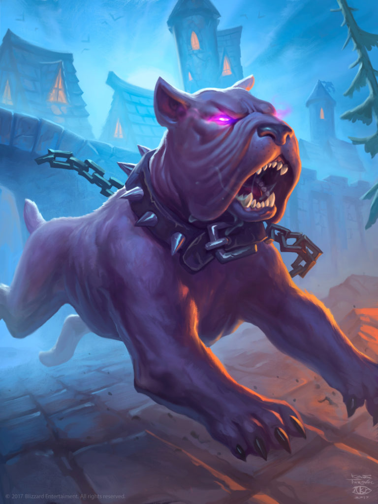 Hunting Mastiff Full Art