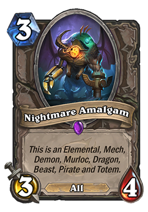 Nightmare Amalgam Card
