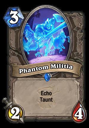 Phantom Militia Card