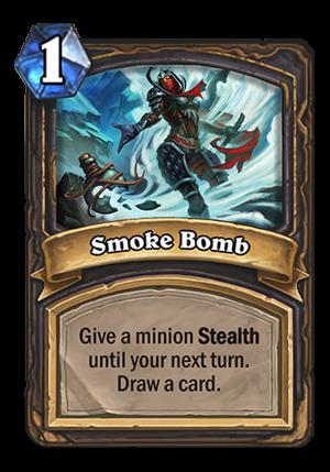 Smoke Bomb Card