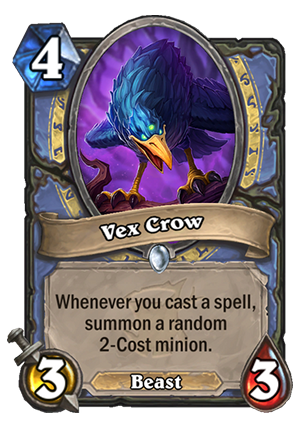 Vex Crow Card