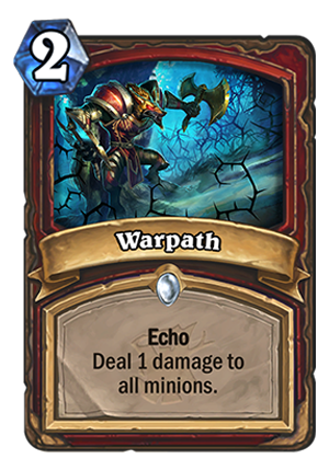 Warpath Card
