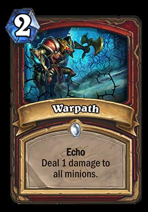 Warpath Card
