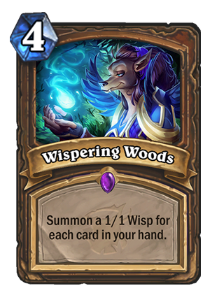Wispering Woods Card