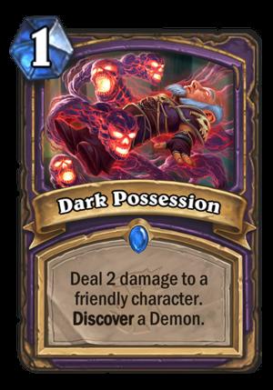 Dark Possession Card