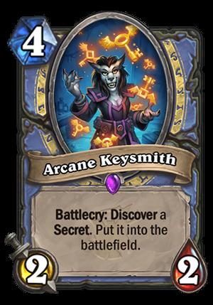 Arcane Keysmith Card