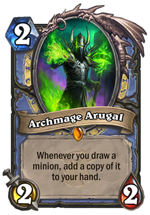 Archmage Arugal - Hearthstone Card - Hearthstone Top Decks