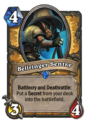 Bellringer Sentry Card