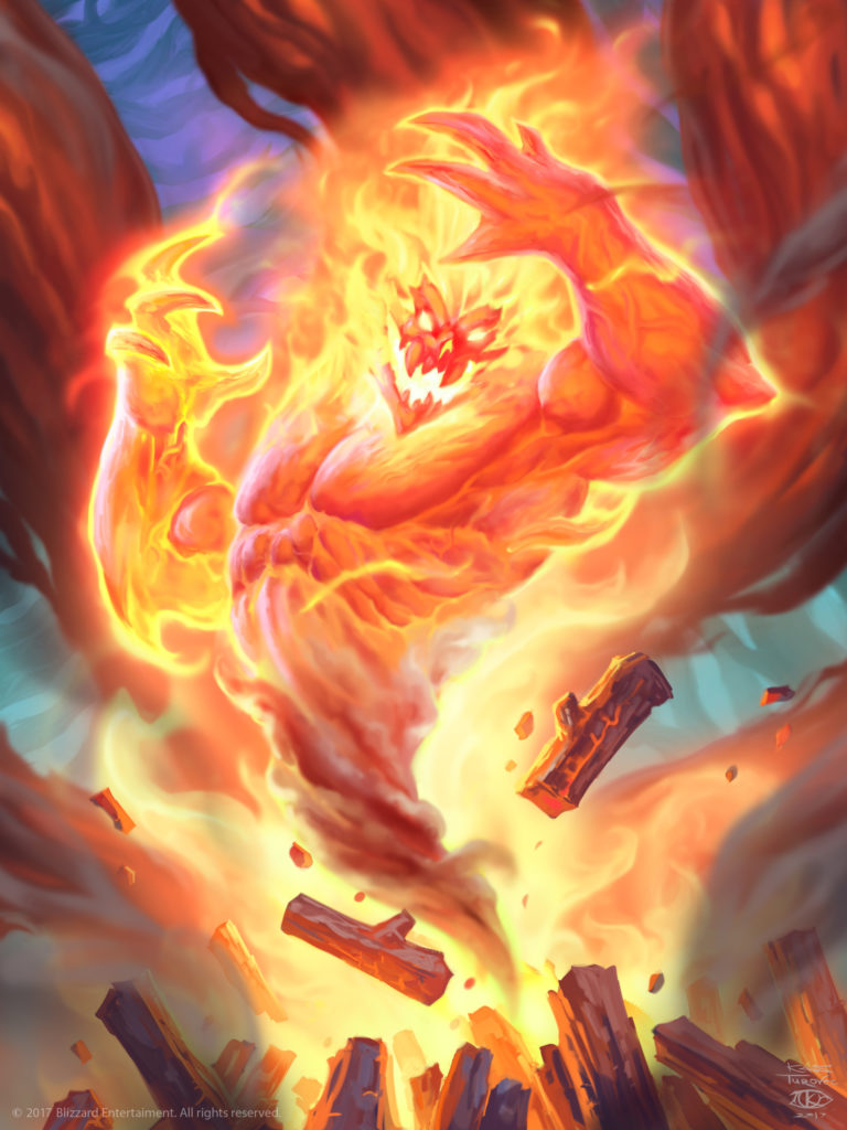 Bonfire Elemental Full Art