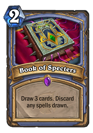 Book of Specters Card