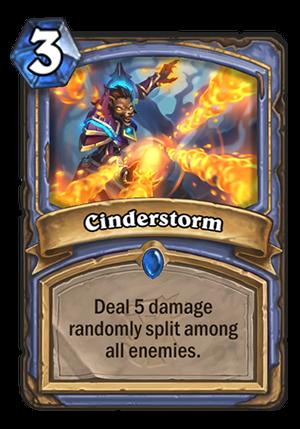 Cinderstorm Card