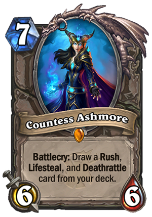 Countess Ashmore Card