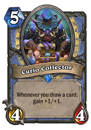 Curio Collector Card