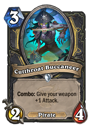 Cutthroat Buccaneer Card