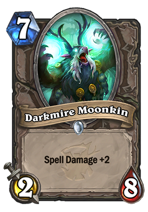 Darkmire Moonkin Card