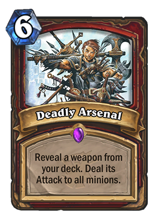 Deadly Arsenal Card