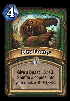 Dire Frenzy Card