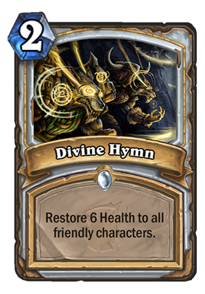 Divine Hymn Card