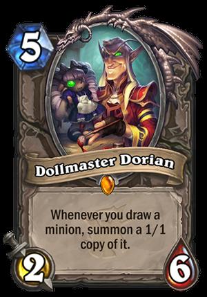 Dollmaster Dorian Card