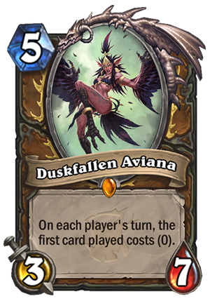 Duskfallen Aviana Card