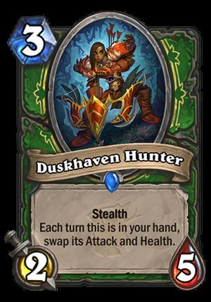 Duskhaven Hunter Card